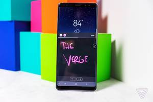 how to use the galaxy note 8's live messages