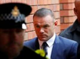 everton fine wayne rooney £300k for drink driving