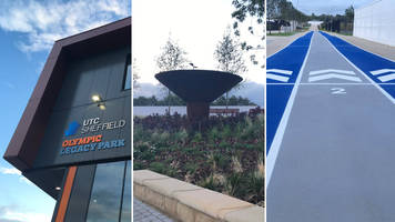 olympic legacy park: community park officially opens