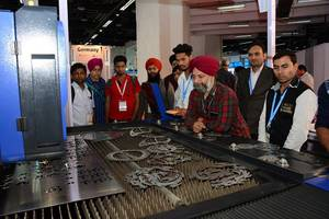 laser world of photonics india 2017 concludes that lasers have a bright future in india