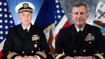 navy dismisses 2 more leaders after incidents involving the 7th fleet