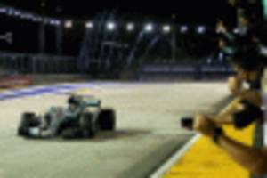 disastrous start for ferrari in singapore helps hamilton extend f1 championship lead