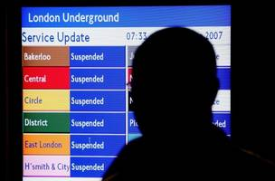 Uh oh: A 24-hour Tube strike is planned for next month
