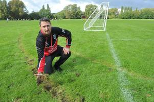 'Idiot' dirt bike vandals who target kids football pitches 'may force Hull clubs to fold'