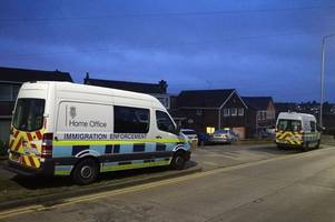 Immigration officers arrest man in early morning swoop on house in Leicester
