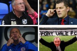 should these be the managers on port vale's shortlist?