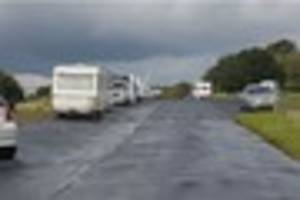 anger as travellers descend on popular beauty spot barr beacon