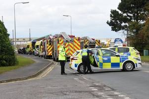 two taken to hospital following collision on normanby road
