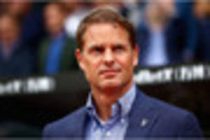 Frank de Boer's awkward hashtag post on social media after...