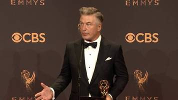 Alec Baldwin bags Emmy for Trump impersonation
