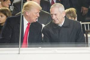 Mattis: U.S. Sees No Need To Down N. Korea Test Missiles, Threats To U.S., Japan Different