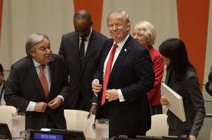 Trump Calls For Removing Bureaucratic Red Tape in First UN Appearance