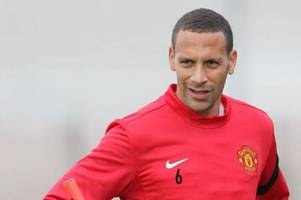 manchester united legend rio ferdinand 'set to become a professional boxer'