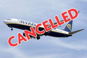 Ryanair reveals FULL list of cancelled flights over next six weeks as airline admits it 'messed up' pilot holidays