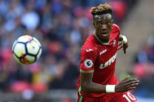 swansea city's paul clement sees similarities between tammy abraham and tottenham star harry kane's pathway to stardom