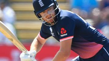 england v west indies: jonny bairstow to open batting in first odi