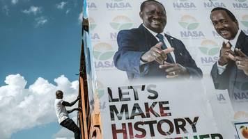 kenya election: system 'cannot be ready' for october poll
