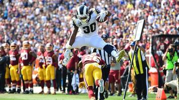 NFL plays of the week: Todd Gurley & Travis Kelce hurdle into the end zone