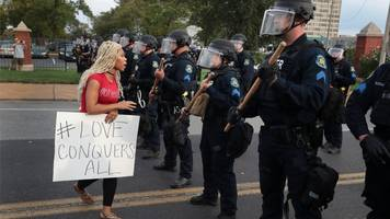st louis: more than 80 arrested in sunday protests