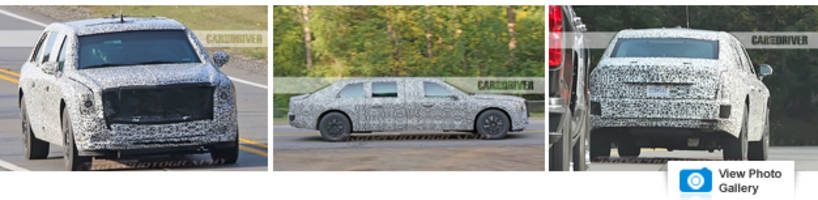What Happened: Cadillac Presidential Limo Spied Testing, Almost White House Ready