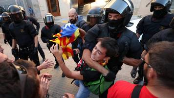 catalonia referendum: spanish raid on unipost deals blow to vote