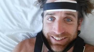 'i thought i was going to die' - derry surfer who broke neck in australia