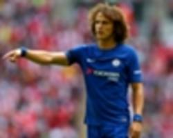Chelsea won't appeal David Luiz red card, Conte confirms