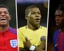 Rashford, Mbappe and Dembele among nominees for Golden Boy award