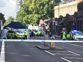 lorry driver arrested after woman killed on london road