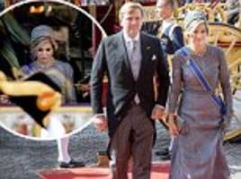 Queen Maxima at opening of Dutch Parliament