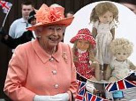 queen's dolls and baby clothes go up for auction