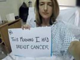 Victoria Derbyshire felt guilty to survive cancer