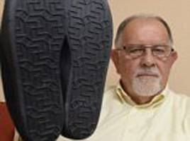 Man buys Amazon slippers but they are covered in swastikas