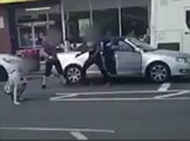 martial arts expert takes on two men in road rage incident