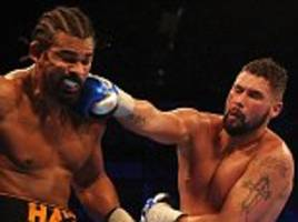 David Haye and Tony Bellew set for rematch on December 17
