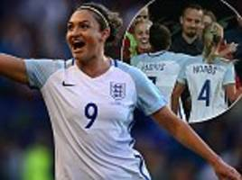 england women 6-0 russia women: hosts complete rout