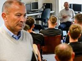 'rugby can learn things from football: eddie jones