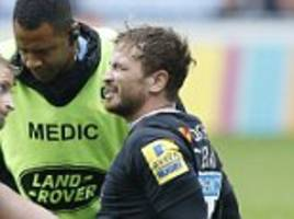 wasps fly-half danny cipriani suffers torn medial ligament
