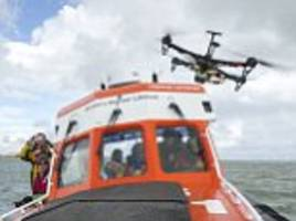 Lifeboats in Norfolk trialling DRONES in search and rescue