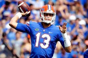 Gators coach Jim McElwain on the progress of QB Feleipe Franks