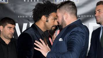 David Haye and Tony Bellew set for heavyweight rematch