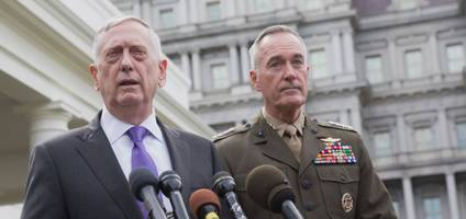 Defense Secretary Mattis Says US Will Act On North Korea Missiles That Pose A Threat