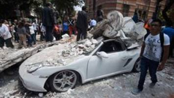 7.1 magnitude earthquake hits central Mexico, collapses buildings