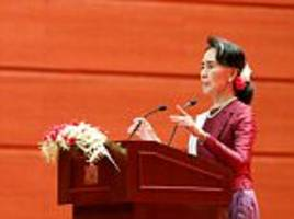 burma's suu kyi slammed over rohingya speech