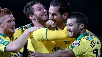 vrancic scores first norwich goals to knock out brentford
