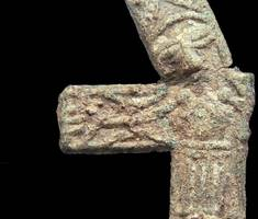 'exceptionally rare' crucifix found by metal detectorist