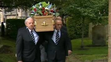 Mike Neville funeral: Respects paid to veteran TV presenter