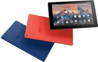 amazon's latest tablet is the fire hd 10, and it's finally high-def