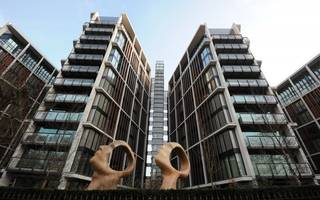 the number of luxury new-builds sold in central london has plummeted 55pc