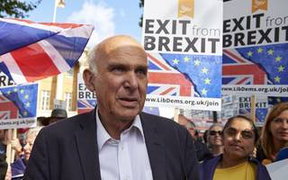 Vince Cable set to call for second Brexit referendum at Lib Dem conference
